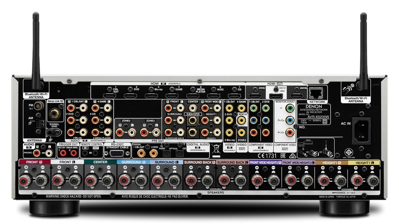 Denon AVR-X5200W produktinformasjon - Hjemmekino no